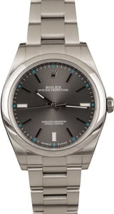 Used Rolex Oyster Perpetual 114300 Rhodium Dial