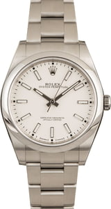 Rolex 114300 Oyster Perpetual White Dial