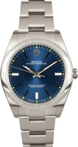 Rolex Oyster Perpetual 114300 Blue