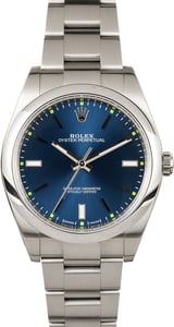 Rolex Oyster Perpetual 39 Blue 114300