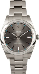 Rolex Oyster Perpetual 114300 Rhodium Dial