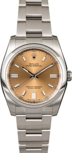 Rolex Oyster Perpetual 116000 White Grape Dial