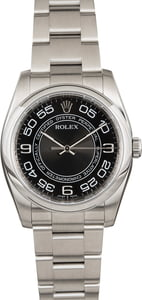 Used Rolex Oyster Perpetual 116000 Concentric Arabic Dial