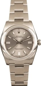 Used Rolex Steel Dial Oyster Perpetual 116000