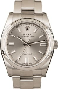 Rolex Oyster Perpetual 116000 Steel Dial