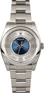 Rolex Oyster Perpetual 116000 Blue Concentric