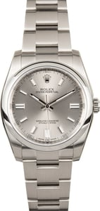 Rolex Oyster Perpetual 116000 Silver Dial