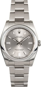 Authentic Rolex Oyster Perpetual 116000 Steel Dial