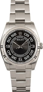 Oyster Perpetual Rolex 116034 Concentric Dial