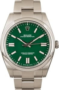Rolex Oyster Perpetual 124300 Green