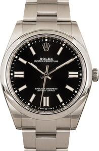 Rolex Oyster Perpetual Black 124300