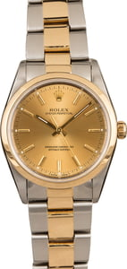 Used Rolex Oyster Perpetual 14203 Two Tone