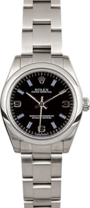 Rolex Oyster Perpetual 31mm 177200 Black Dial