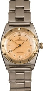 Vintage 1959 Rolex Oyster Perpetual 3372 Bubble Back