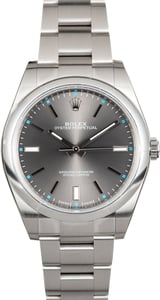 Rolex Oyster Perpetual 39MM Rhodium 114300