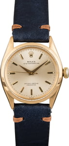 Rolex Oyster Perpetual 6285 Yellow Gold Case