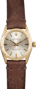 Rolex Oyster Perpetual 6551 Silver Index Dial