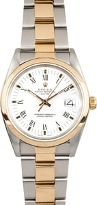 Rolex Oyster Perpetual Date 15003 Two-Tone