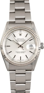 Rolex Oyster Perpetual Datejust 16234 White Gold Bezel