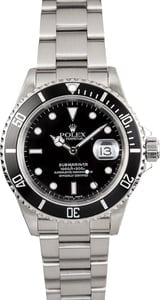 Rolex Oyster Perpetual Steel Submariner 16610