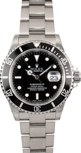 Rolex Oyster Perpetual Submariner 16610 No Holes