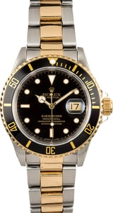 Rolex Oyster Perpetual Submariner 16613 Black Bezel