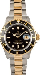 Rolex Oyster Perpetual Submariner 16803 Black