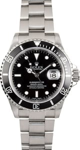 Rolex Oyster Perpetual 16610 Submariner No Holes