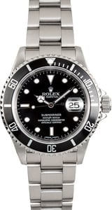Rolex Oyster Perpetual Submariner Steel 16610