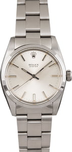 Pre Owned Rolex Oyster Precision 6426 Silver Dial