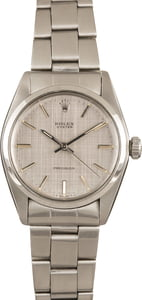 Rolex Oyster Precision 6426 Silver Index Dial