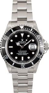 Rolex Oyster Submariner 16610 Serial Engraved