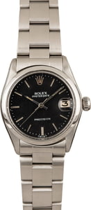 Used Rolex OysterDate 6466 Black Dial