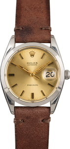 Rolex OysterDate 6694 Champagne Index Dial