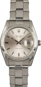 Used Rolex OysterDate 6694 Silver Dial
