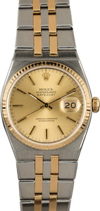 Rolex Datejust 17013 OysterQuartz with Two Tone Integral