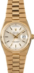 Rolex OysterQuartz 19018 Yellow Gold Day-Date