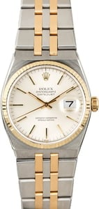 Rolex Datejust OysterQuartz 17013 Two Tone Integral