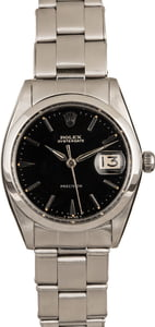 Used Rolex OysterDate 6694 Black Dial