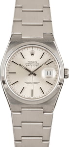 Pre-Owned Rolex Oysterquartz Datejust 17000 Steel Integral Band