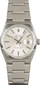Used Rolex Oysterquartz Datejust 17000 Silver Dial