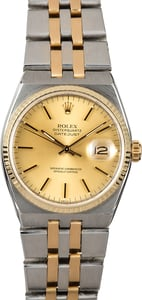 Rolex Oysterquartz Datejust 17013 Two-Tone