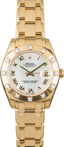 Rolex Pearlmaster 81318 Yellow Gold