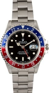 Rolex Pepsi GMT Master 2 16710 100% Authentic