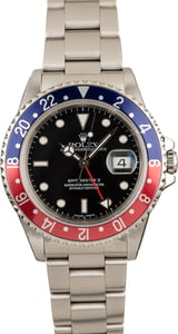 Pre-Owned Rolex 'Pepsi' GMT Master II 16710
