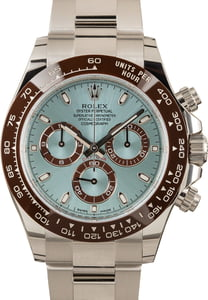 Rolex Platinum Daytona Ice Blue 116506