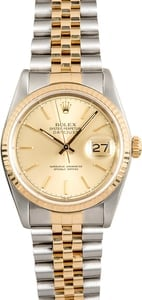 Rolex Pre-Owned Men's Datejust 16233 Two-Tone
