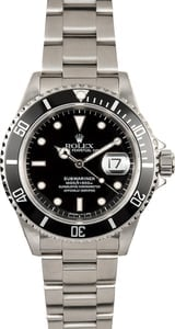 Rolex Pre-Owned Submariner 16610
