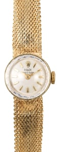 Ladies Rolex Precision Gold Watch
