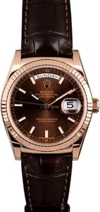 Rolex Day-Date 118135 Everose Gold